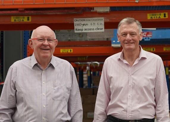 Gerry Bids Farewell to Foodbank